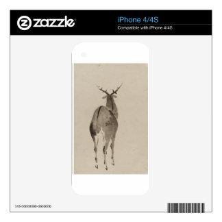 Deer in the Snow iPhone 4 Skins