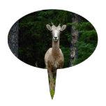 Deer in the Woods Cake Pick