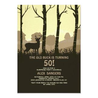 Deer In The Woods Invitation