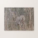 Deer in the Woods Jigsaw Puzzle