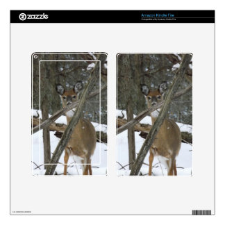 Deer In The Woods Kindle Fire Skin