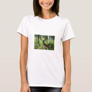 Deer in Woodland T-Shirt