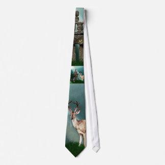 DEER & INUKSHUK Collection Tie