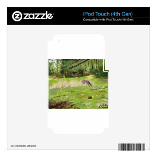 Deer iPod Touch 4G Decal