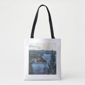 """Deer Isle Thoroughfare"" Tote Bag"