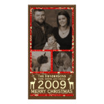 Deer it's Cristmas! Holiday Photocard Personalized Photo Card
