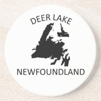Deer Lake Beverage Coasters