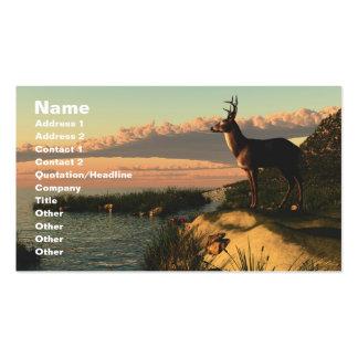 Deer Lake Business Card