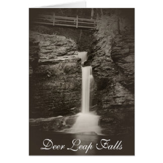 Deer Leap Falls Card