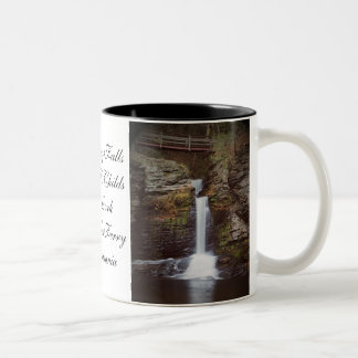 Deer Leap Falls Coffee Mug