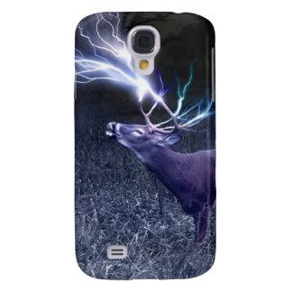 Deer Lightning Samsung Galaxy S4 Case