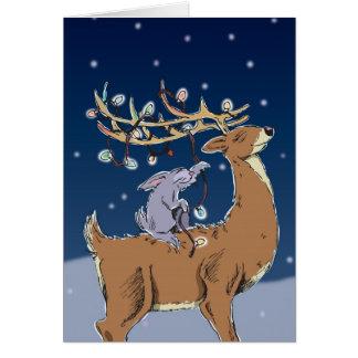 deer lights HR Card