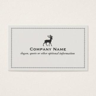 Deer Logo Business Card