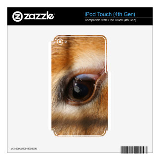 Deer look in my Eyes Skins For iPod Touch 4G