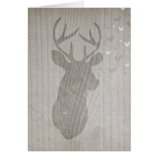 Deer Love | Buck Card