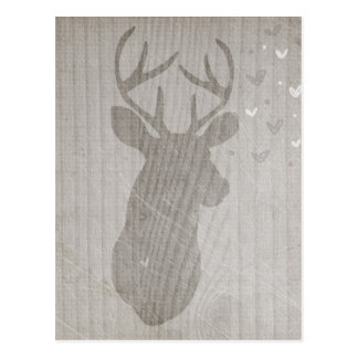 Deer Love | Buck Postcard