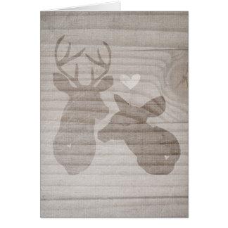 Deer Love | Couple Card