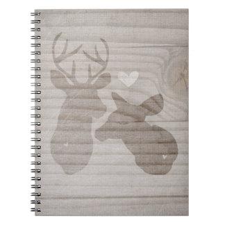 Deer Love | Couple Notebook