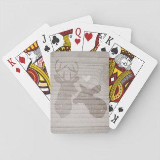 Deer Love | Couple Poker Cards