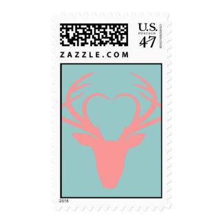 Deer Love Postage