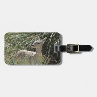 Deer Travel Bag Tags