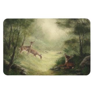 Deer Manget Rectangle Magnets