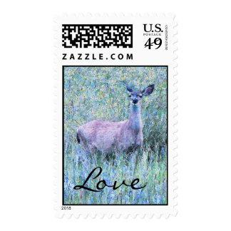 Deer Meadow Love Postage