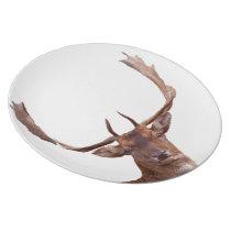 Deer Melamine Plate
