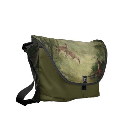 Deer Messenger Bag
