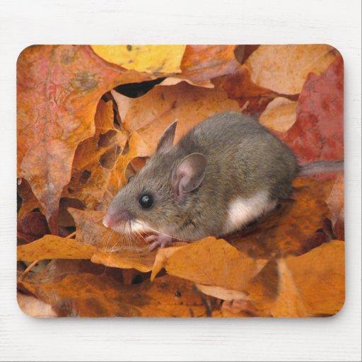 Deer mouse mousepad