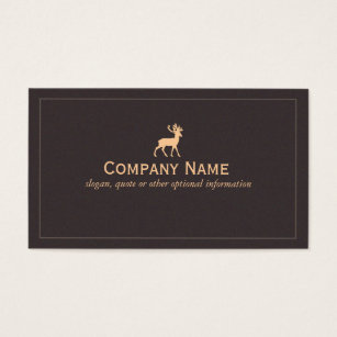 Taxidermy business cards templates zazzle deer nature and wilderness business card colourmoves