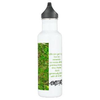 Deer Nature Mindfulness White Water Bottle 24oz