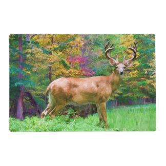 Deer on an Autumn Morning Placemat