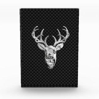 Deer on Carbon Fiber Style Print Award