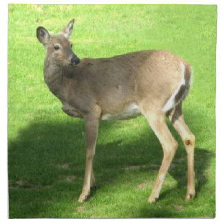Deer on Grass American MoJo Napkin