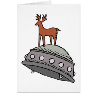 Deer on UFO Cards