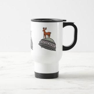 Deer on UFO Mugs