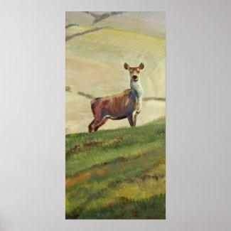 Deer Painting Posters