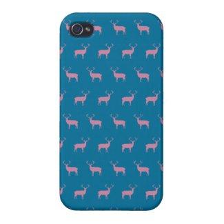 Deer Pattern iPhone 4 Case