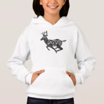 Deer Pattern  Sister Love Kids Jacket