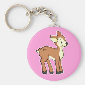 Deer Pink Keychain