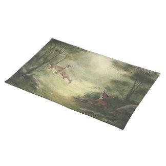 Deer Placemat Cloth Placemat
