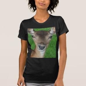 Deer Portrait Photography Wildlife T-Shirt