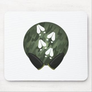 Deer Print Circle Mouse Pad
