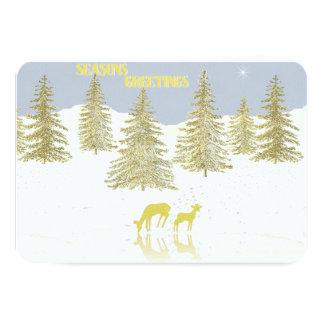 Deer Reflection Card