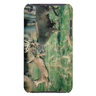 Deer running in forest barely there iPod cover