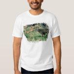 Deer running in forest t-shirt