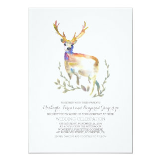 deer wedding invitations & announcements | zazzle, Wedding invitations