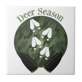 Deer Season Ceramic Tiles