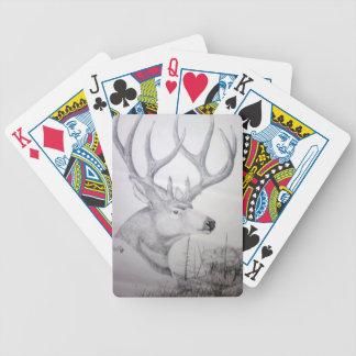Deer Sidehill.jpg Bicycle Playing Cards